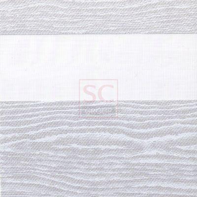 Тканевые ролеты день-ночь BH 201 white
