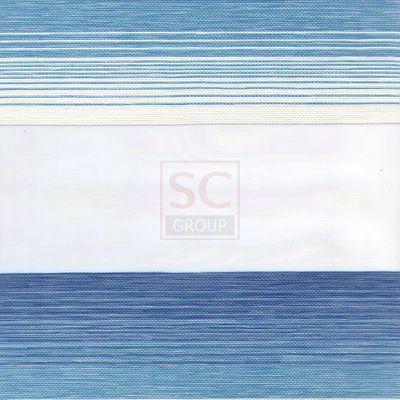 Зебра кантри - голубой