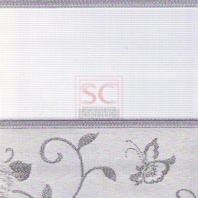 Зебра орнамент - серебро