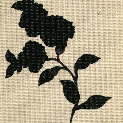 Чайная роза - черный 4083