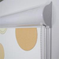 Закрытая система тканевых ролет Besta Uni с плоскими направляющими